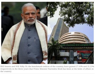 Narendra Modi's magic works on stock markets too; here are the top reasons.PNG