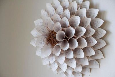 Giant paper flower wall sculpture for nursery wedding ho giant paper flower wall sculpture for nursery wedding home harry potter book mightylinksfo