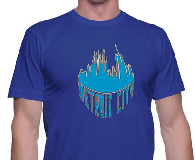 Detroit City Shirt, Detroit, Michigan, Unisex Style, City of Detroit, Classic Tee, Casual Shirt, Pride Shirt, Trendy Tee, Travel Shirt $24.00