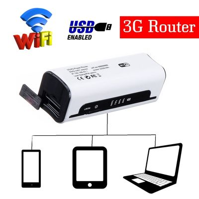 Portable Wifi 3G/4G Router Mini Portable 150Mbps Wifi Router Support Power Bank