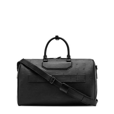 MCM Medium Nomad Weekender In Black