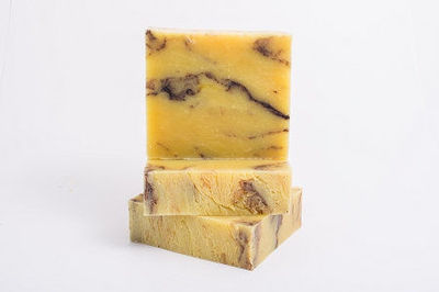 2 Bars Of Burnt Orange Patchouli Natural Soap Bar $9.95