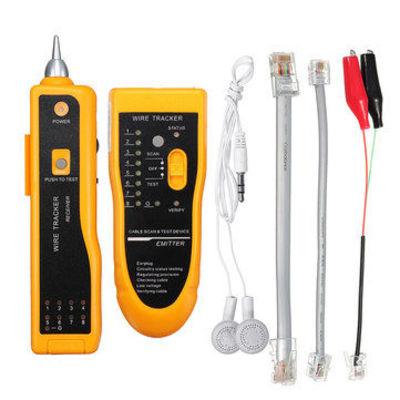 Cable Wire Tracker Tracer Network Cable Tester Detector Line Finder Diagnose Tone Tool
