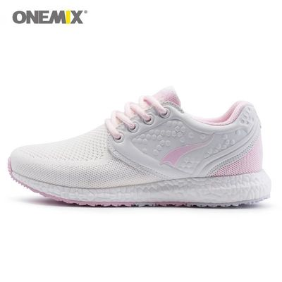 Onemix running shoes for women sneakers women breathable cool mesh space PU outdoor lighting for sports jogging walking sneakers $124.99