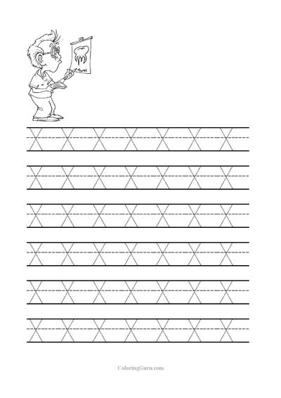 free printable tracing letter x worksheets for preschool free printable tracing sheets for pre. Black Bedroom Furniture Sets. Home Design Ideas