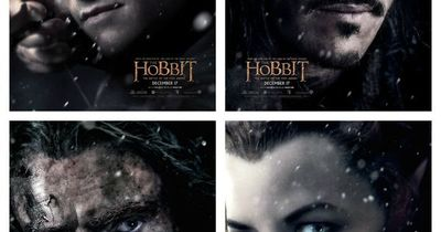 The Hobbit: the Battle of the Five Armies character posters.
