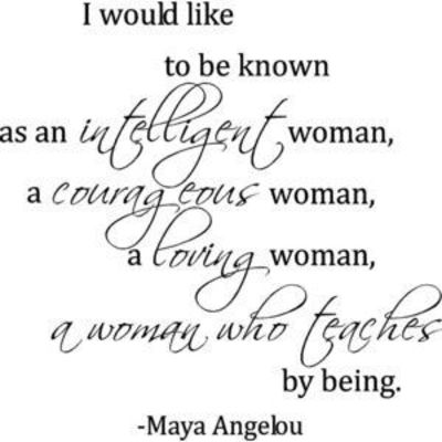 an intelligent woman quotes
