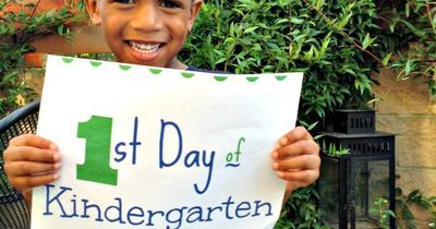 First Day of School Ideas http://thirty-one10.com/motherhood/first-day-of-kindergarten/