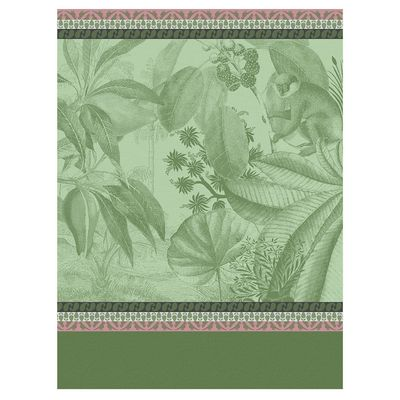 Voyage Au Kerala Forest Tea Towels by Le Jacquard Français $100.00