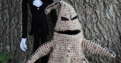 Knitting Pattern Nightmare Before Christmas : Jack Skellington Doll from