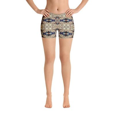 """Exclusively from And Above All YOGA --- """"Classical Movement"""" Made to Order Standard Yoga Shorts for just $37.00 with FREE SHIPPING"""