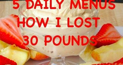Lose weight the healthy and delicious way.