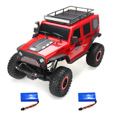 Wltoys 104311 1/10 2.4G 4X4 Crawler RC Car Desert Mountain Rock Vehicle Models With Two Motors LED Head Light Two Battery
