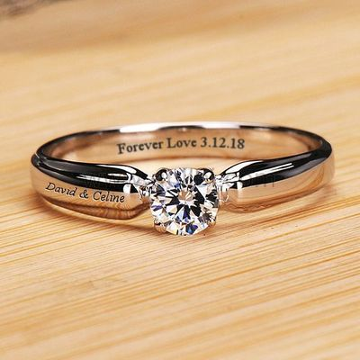 0.2 Ct Diamond Promise Ring for Her With Names Engraved https://www.gullei.com/0-2-ct-diamond-names-engraved-diamond-promise-ring-for-her.html