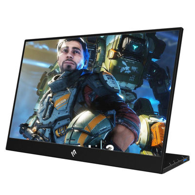 WEICHENSI 15.6 Inch Touchable 1080P 90 Degree Type C Portable Computer Gaming Monitor Display Screen for Smartphone Tablet Laptop Game Consoles