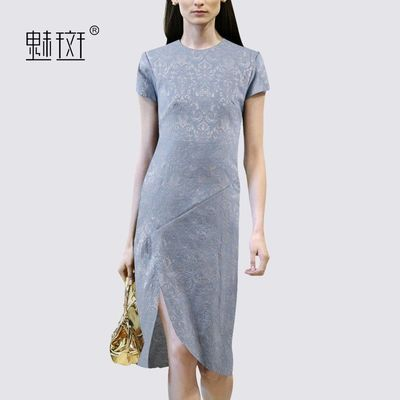 2017 summer styles dresses, plus size dress vintage modified cheongsam slim temperament - Bonny YZOZO Boutique Store