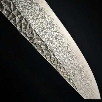 Handmade Chef Knife Laminated Damascus vg10 Steel Home Cooking Tools Chef's Gift Kitchen Knives $199.00