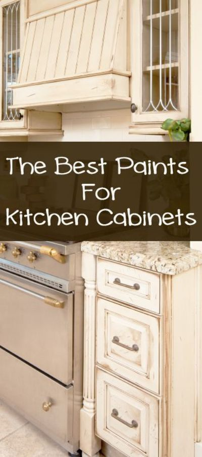 When painting your kitchen cabinets, you will need a high quality paint that is durable and looks nice. Some of the best quality paints to use on kitchen cabinets are: Annie Sloan Chalk Paint Annie Sloan paint is great because it doesnt require a primer, ...