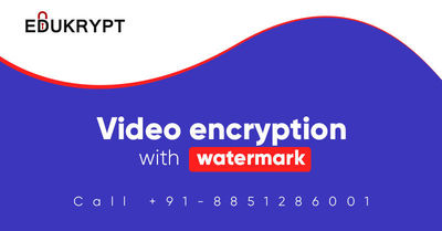 Edukrypt is that type of software which provides video encryption with watermark method. It is specialized software for the protection of your digital content and using 256 Bit AES Technology for the encryption process. Know More Call: +91-885-128-6001 or...