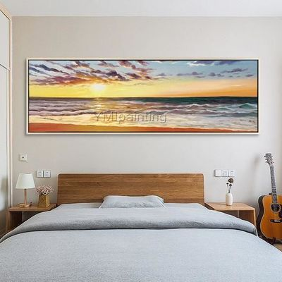 Abstract painting acrylic painting on canvas seascape painting huge art Wall Art wall Pictures for living room home decor cuadros abstractos $99.00