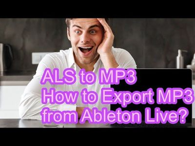 I will guide you through the proper method to convert ALS to MP3.