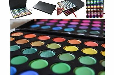 ABD 120 Colours Eyeshadow Palette Make up Set Kit Makeup Eye Shadow Professional Set Kit created to be water resistant and to keep on lasting way after a day or night is done Dimension: 23*16*2.5 cm Ingredients: Talc,Mica,Mineral Oil,Kaolin,Titanium Dioxi...