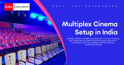 Global Digital Movies provides an opportunity for multiplex cinema setup in India with best affordable prices. We are providing best quality devices, software & setup guide which fully contributes to increase the profitability of our business partners...