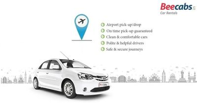 "Airport Cabs Pickup and Drop services in Chennai, Bangalore, Delhi, Pune, Hyderabad, Mumbai, Goa, Madurai, Trichy and Coimbatore. - Beecabs Airport Transfer Online Cab Booking �€"" in India."