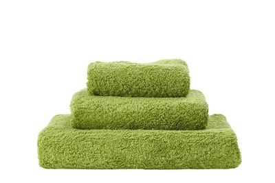Super Pile Apple Green Towels by Abyss and Habidecor $20.00