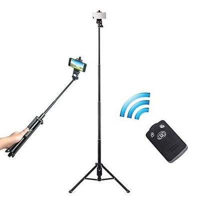 54 inch selfie stick tripod 3 in 1 extendable iphone self p for my closet juxtapost. Black Bedroom Furniture Sets. Home Design Ideas