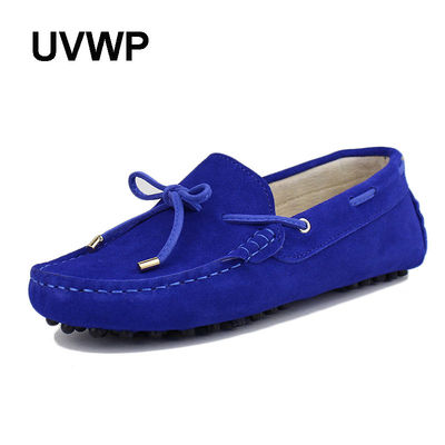 Shoes Woman High Quality 100% Genuine Leather ladies Flat Shoes Casual Loafers Women Shoes Flats Moccasins Lady Driving Shoes