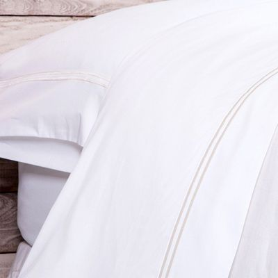 White/Taupe Sheet Sets $241.00