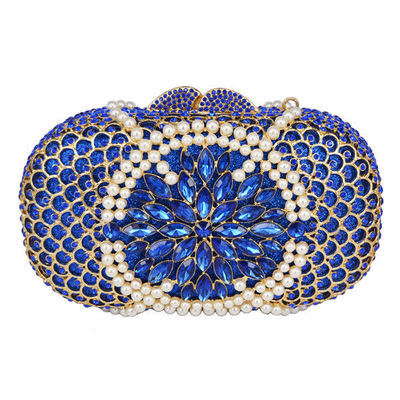 Women Pearl Hollow Out Evening Clutch Bag $154.05