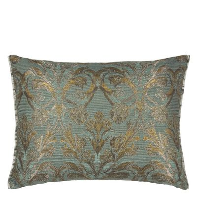 Designers Guild Vittoria Aqua Decorative Pillow $200.00