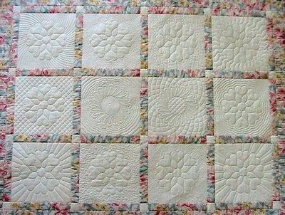 How different background quilting accents focus designs