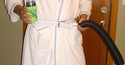 Cousin Eddie from Christmas Vacation - Homemade costume for men.