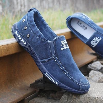 Fashion Denim Men Canvas Shoes Male Summer Sneakers Slip On Casual Breathable Shoes Loafers Chaussure Homme Zapatos De Hombre $5.5420% off code: fairytale