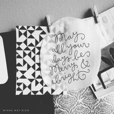 merry & bright | minna may blog