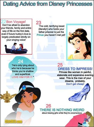 I like Disney movies as much as the next former American girl-child, but that's not to say they don't have their issues!