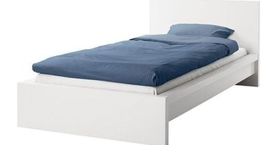MALM Bed frame IKEA Adjustable bed sides; allow you to use mattresses of different thicknesses.