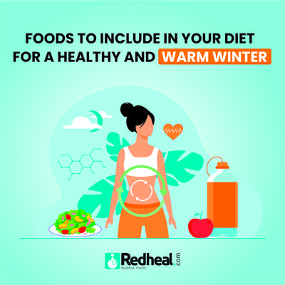 Check our blog article to know some of the foods you can include in your daily diet to keep your bodies warm and immune. https://www.redheal.com/blog/skin/foods-to-include-in-your-diet-for-a-healthy-and-warm-winter-2/