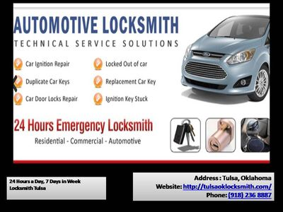 Tulsa Security Lock can help you get back on your way as fast as possible. We assist you with your vehicle locks, business and residential services with excellent customer service. Just give us a call at: 918-236-8887 Click to know more: https://tulsaok...