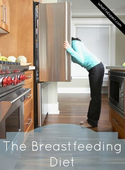 What to eat (and what foods to avoid) so you and baby can stay healthy while you're breastfeeding