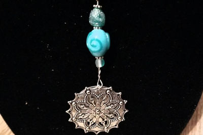 Medallion and Mirrors Necklaces- Can Be Personalized in either style and different colors $15.00