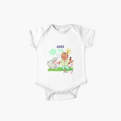 Zodiac Fun Aries Baby One-Pieces