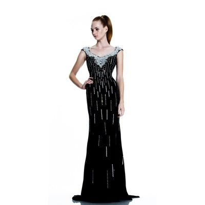 Black Johnathan Kayne 519 - Customize Your Prom Dress