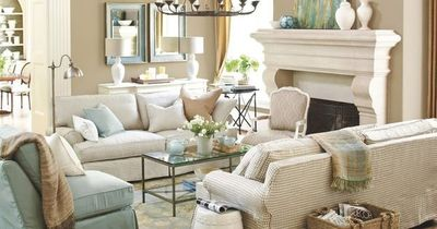 Like the candle tray on sofa table between lamps. Decorating Tips: Transforming Your Space for a New Year and a New You