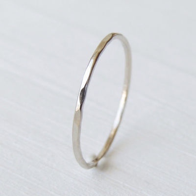 thin 14k white gold ring 78 00 for my closet juxtapost