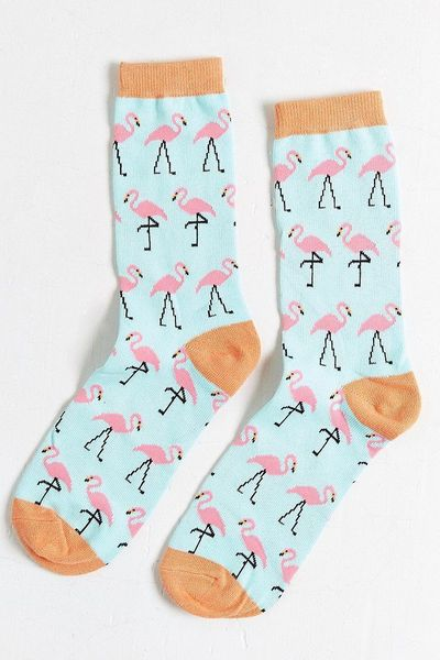Flamingo Sock - Urban Outfitters
