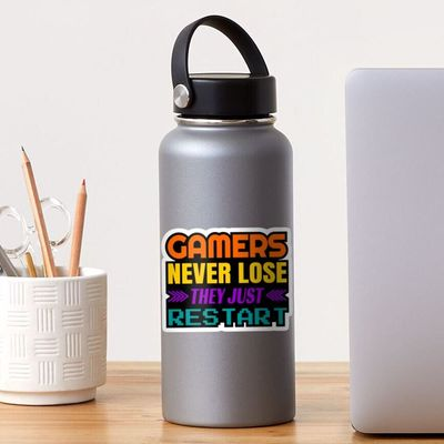 Amazing colorful sticker for gamers